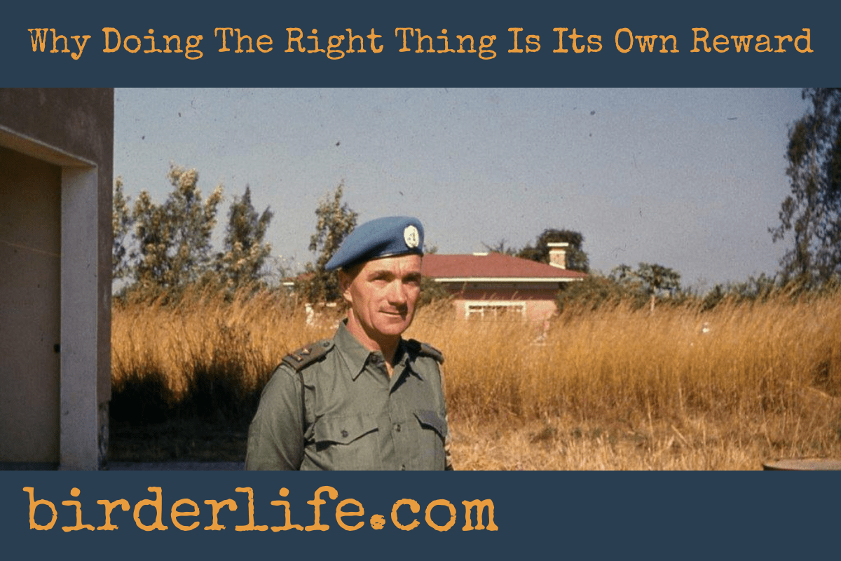 Why Doing The Right Thing Is Its Own Reward